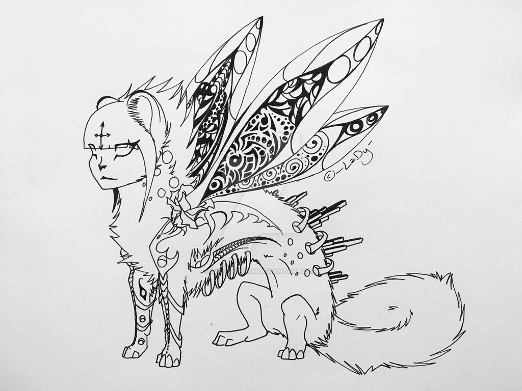 Sketchy sketch redraw :D by LaDyLuPiTeK