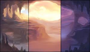 Deep Cavern Background Pack