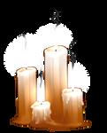 Dauis Prayer Candles by AlphaStryx