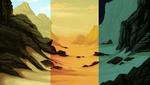 Black Desert Background Pack by AlphaStryx