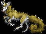 Golden Kirin by AlphaStryx