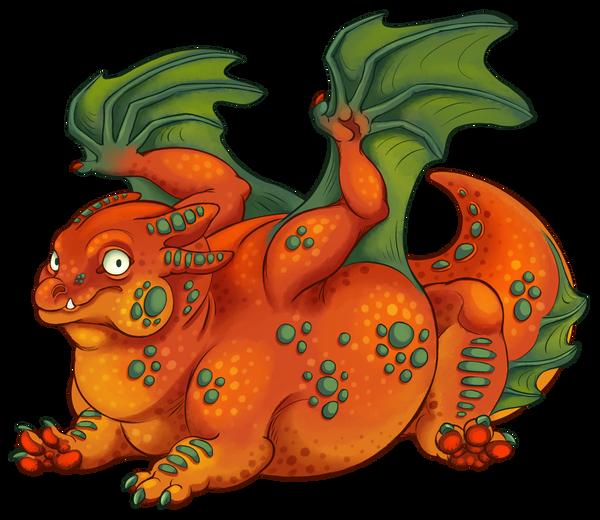 Orange Pumpkin Fiendrake
