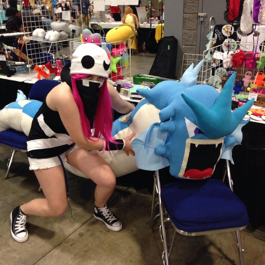 Team Skull Grunt Cosplay by Bluefootstroodle