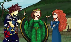 Kingdom Hearts Brave by TiaBlackRaven