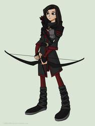 TT Nyssa Al Ghul(Arrow) by TiaBlackRaven