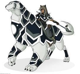 LOK Water tribe armor