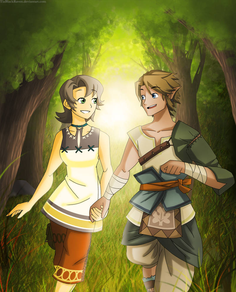 Link and Ilia by EricMHE on DeviantArt