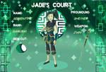 Jade's court |Serpentine Application
