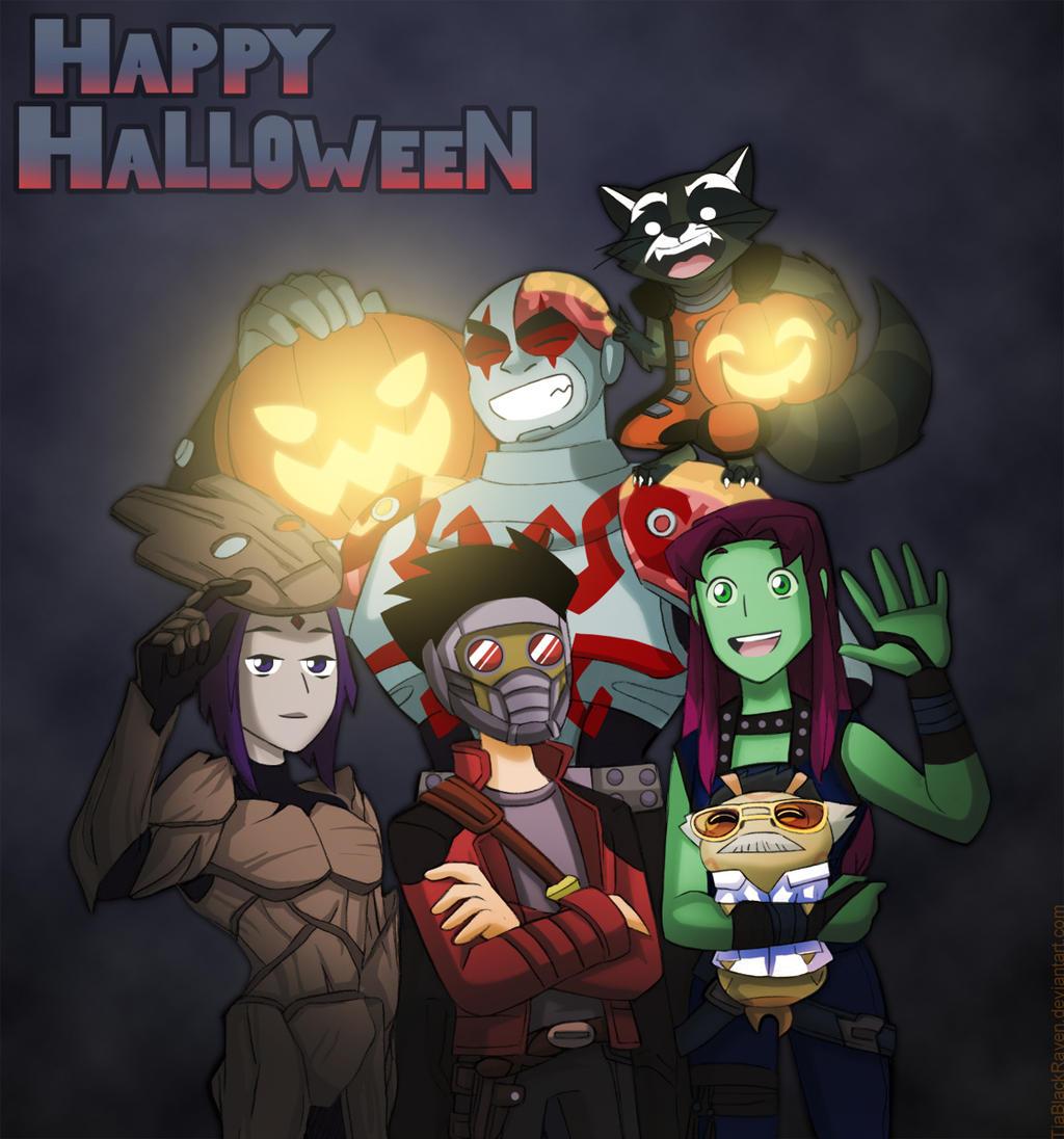 Titans Hallowen 2016 by TiaBlackRaven