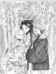 #Inktober2017-17)Graceful/ Kaguya Hime's tale