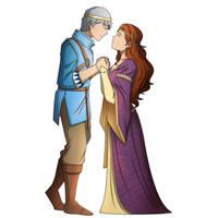 COM Bleddyn and Gwendolin