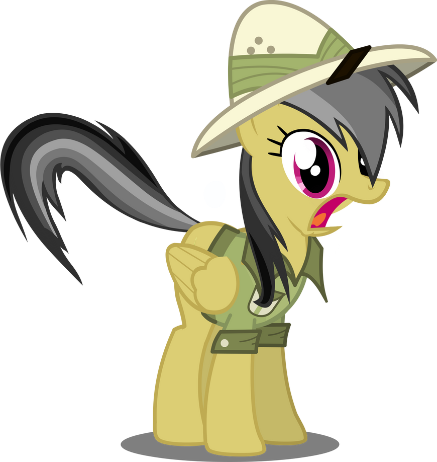 Shocked Daring Do by TheMultiMaker1