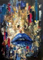 Falling Blue by Regularita