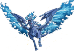 Sacred Blue Phoenix Of Nephthys
