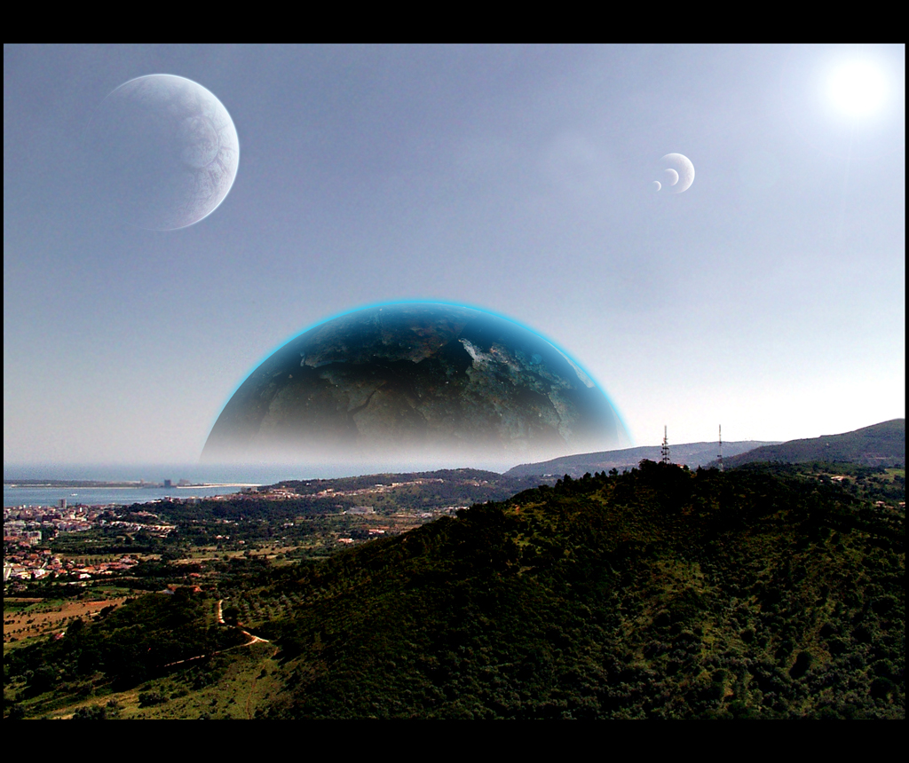 earth view from other planets - photo #8
