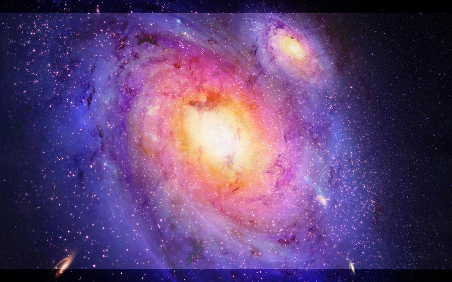 First galaxy by RMirandinha