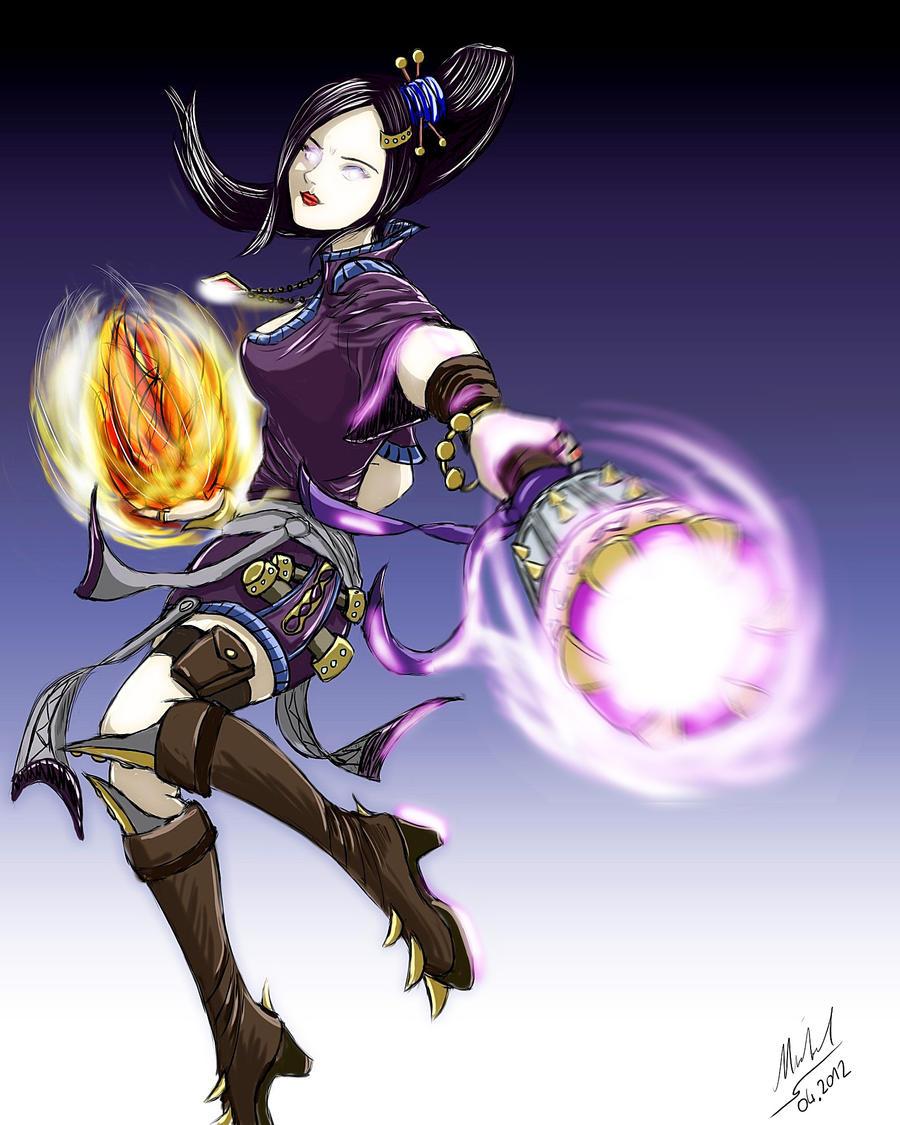 Diablo 3 - Sorceress by Split-SoulX