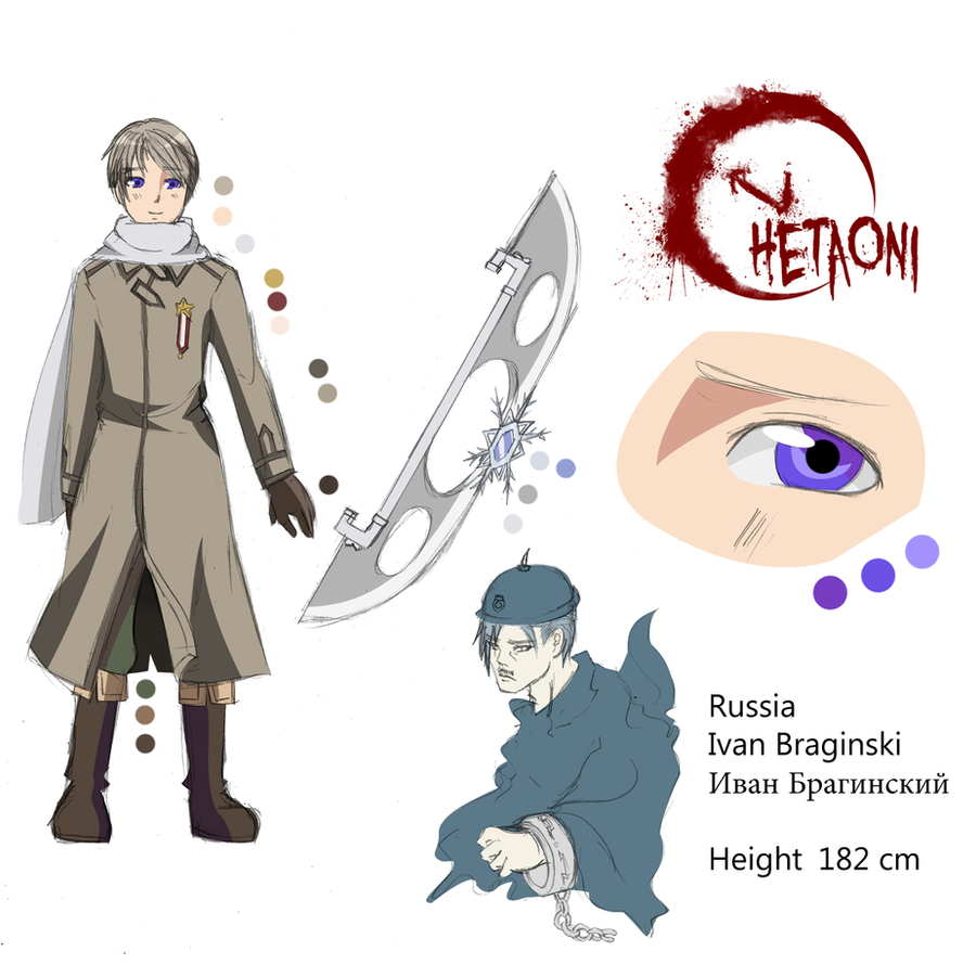 Anime Character Design Base : Russia character sheet by mieulinhtu on deviantart