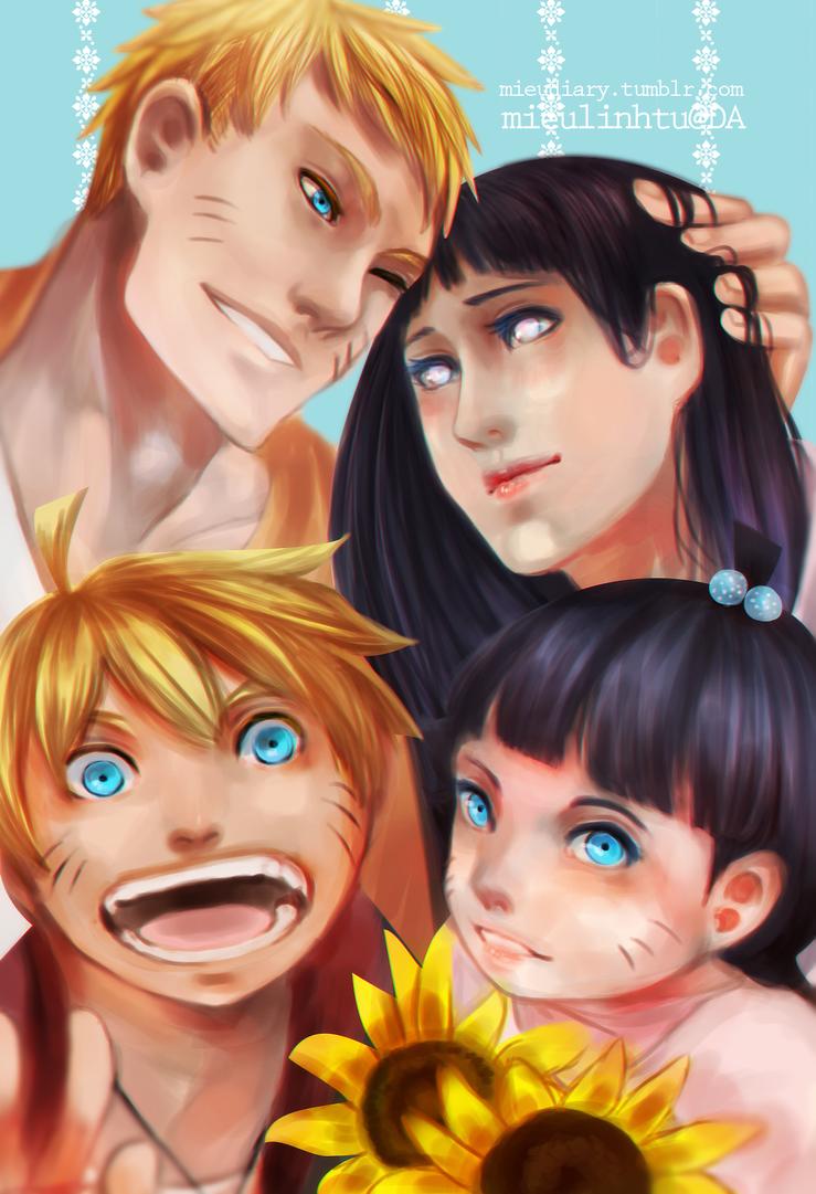 Naruto family by mieulinhtu