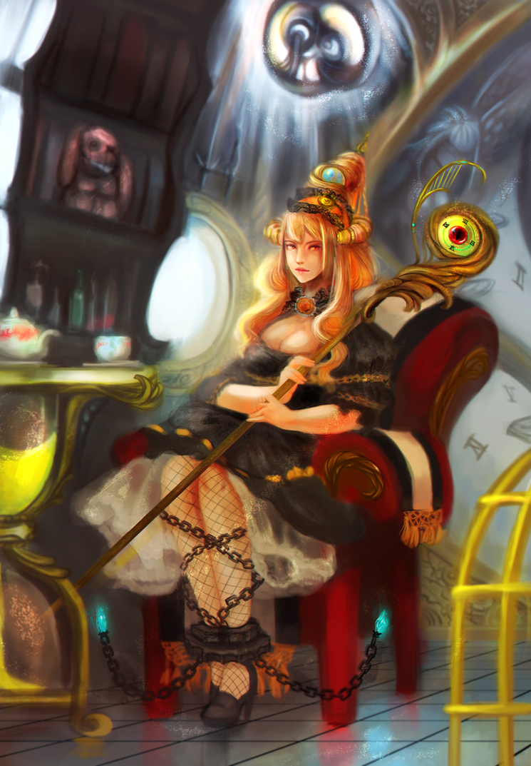 Time Witch by mieulinhtu