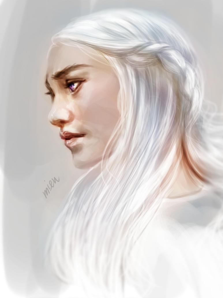 Daenerys Targaryen by mieulinhtu