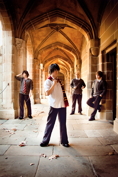 James Potter and the Marauders by Kaallisi