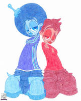 Jamar Jackson and Kadeem Barrera by SolaSista94
