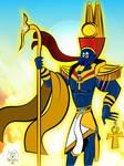 Amun 'King of the Gods' by 0ne0nlyLarry