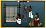 Ancient Egyptian Craftsmen by LarrySpring96