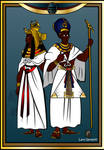Ancient Egyptian Royalty by 0ne0nlyLarry