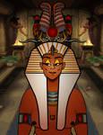 Hatshepsut,  Egyptian Queen of the 18th Dynasty by 0ne0nlyLarry