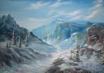Winter Landscape by sai-orc