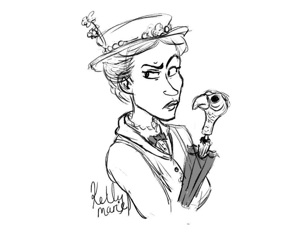 Mary Poppins Dibujos Para Colorear: Bert From Mary Poppins