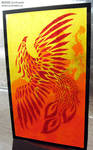 Stained Glass Painting-Phoenix