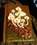 Mushroom Log Book - tilted