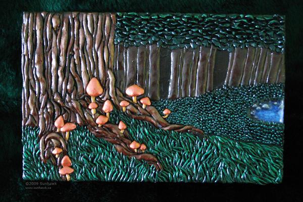 Forest Mushroom Box by sunhawk