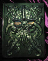 Cthulhu Book by sunhawk