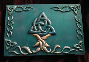 Celtic Tree Box