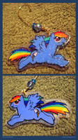 Rainbowdash - Sparkly Ornament