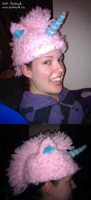 Pink Unicorn Hat - Glee Fan Present