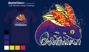 BeetleGekko Shirt Design - Cute Monsters Contest