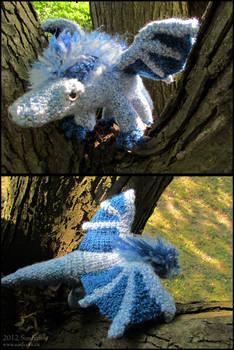 Ice Dragon Plushy