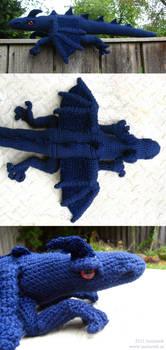 Midnight Dragon Plushy