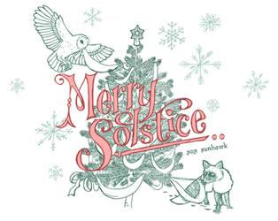 Merry Winter Solstice by sunhawk