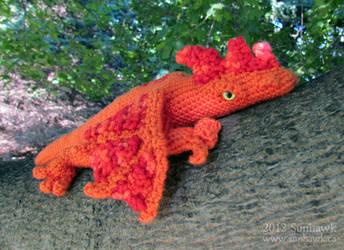 Rooster Dragon Plushy
