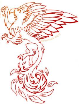 Sunhawk tattoo