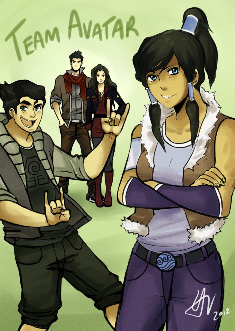 Team Avatar by vbfrap