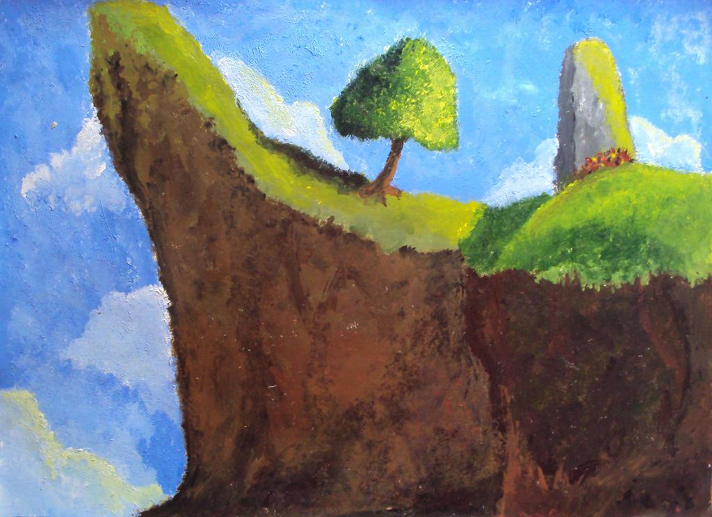 Pintura impressionista by ruansl on deviantart for Pintura para suelos de terrazo