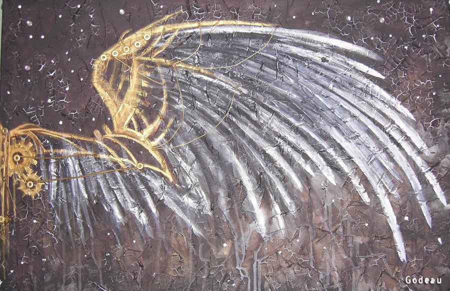 Steampunk wings by Deevine9