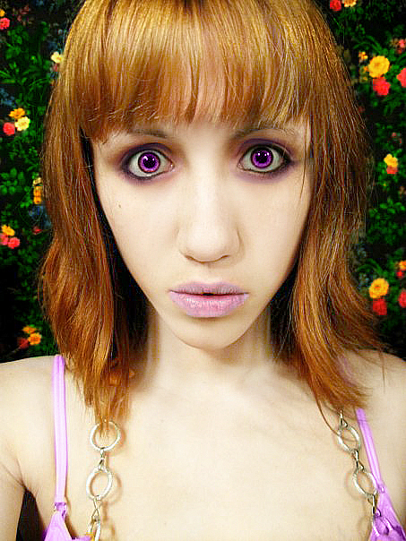 Purple Dezi by scribbleXcore